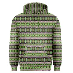 Fancy Tribal Border Pattern 17a Men s Pullover Hoodie by MoreColorsinLife