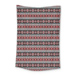 Fancy Tribal Border Pattern 17f Small Tapestry by MoreColorsinLife