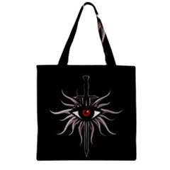 Inquisition Symbol Zipper Grocery Tote Bag by Valentinaart