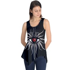 Inquisition Symbol Sleeveless Tunic by Valentinaart