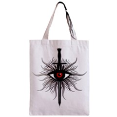 Inquisition Symbol Zipper Classic Tote Bag by Valentinaart