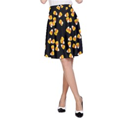 Candy Corn A Line Skirt