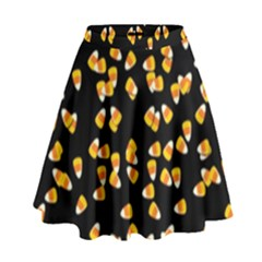 Candy Corn High Waist Skirt by Valentinaart