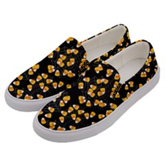 Candy Corn Men s Canvas Slip Ons by Valentinaart