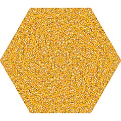 Candy Corn Mini Folding Umbrellas by Valentinaart