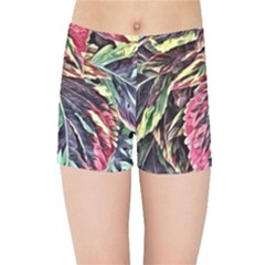 Dreamy Floral 7 Kids Sports Shorts