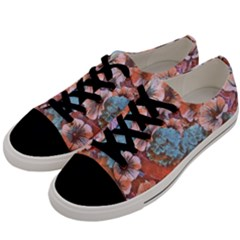 Dreamy Floral 4 Men s Low Top Canvas Sneakers by MoreColorsinLife