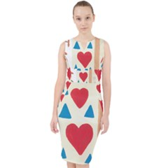 Love Path Midi Bodycon Dress by arash1