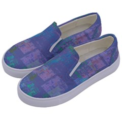 Abstract Art Kids  Canvas Slip Ons by ValentinaDesign