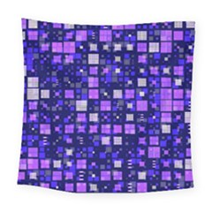 Small Geo Fun E Square Tapestry (large) by MoreColorsinLife