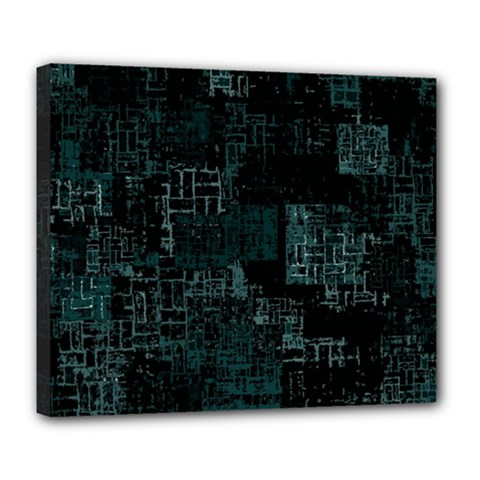 Abstract Art Deluxe Canvas 24  X 20
