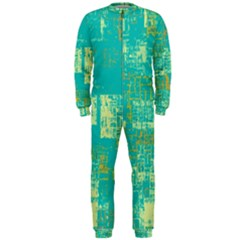 Abstract Art Onepiece Jumpsuit (men)