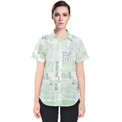 Abstract Art Women s Short Sleeve Shirt