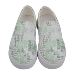 Abstract Art Women s Canvas Slip Ons