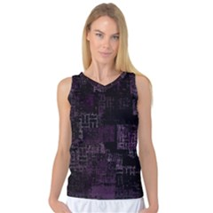 Abstract Art Women s Basketball Tank Top
