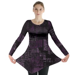 Abstract Art Long Sleeve Tunic