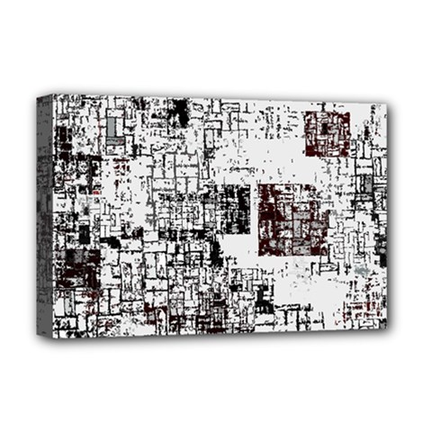 Abstract Art Deluxe Canvas 18  X 12   by ValentinaDesign