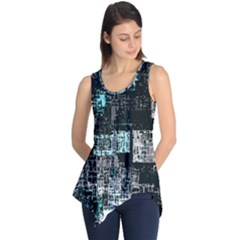 Abstract Art Sleeveless Tunic by ValentinaDesign