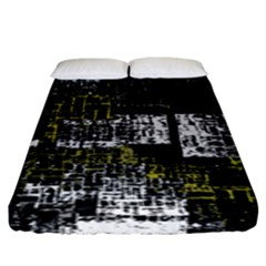 Abstract Art Fitted Sheet (king Size) by ValentinaDesign
