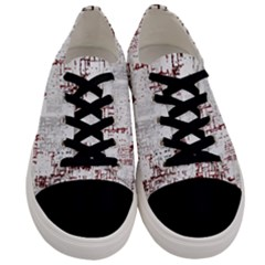 Abstract Art Men s Low Top Canvas Sneakers