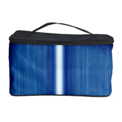 Blue Cross Christian Cosmetic Storage Case by Mariart
