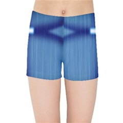Blue Cross Christian Kids Sports Shorts by Mariart