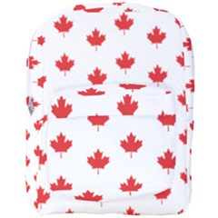 Canadian Maple Leaf Pattern Full Print Backpack