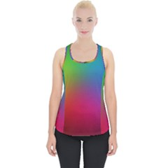 Bright Lines Resolution Image Wallpaper Rainbow Piece Up Tank Top
