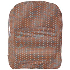 Brick Wall Brown Line Full Print Backpack by Mariart