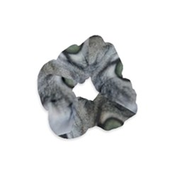 Cat Face Eyes Gray Fluffy Cute Animals Velvet Scrunchie by Mariart