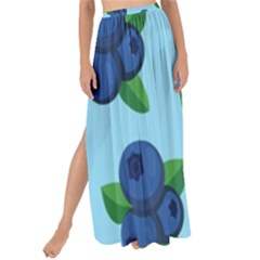 Fruit Nordic Grapes Green Blue Maxi Chiffon Tie Up Sarong by Mariart