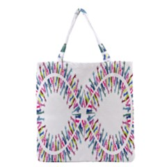 Free Symbol Hands Grocery Tote Bag by Mariart