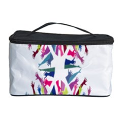 Free Symbol Hands Cosmetic Storage Case by Mariart