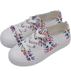 Free Symbol Hands Kids  Low Top Canvas Sneakers by Mariart