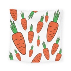 Fruit Vegetable Carrots Square Tapestry (small)