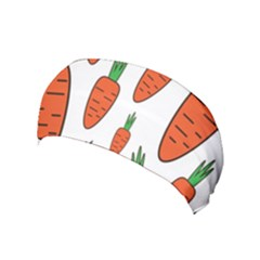 Fruit Vegetable Carrots Yoga Headband by Mariart