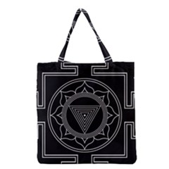 Kali Yantra Inverted Grocery Tote Bag by Mariart