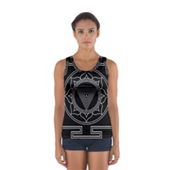 Kali Yantra Inverted Sport Tank Top  by Mariart