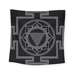 Kali Yantra Inverted Square Tapestry (small) by Mariart