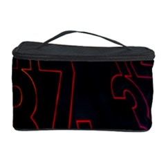 Neon Number Cosmetic Storage Case by Mariart