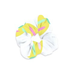 Pineapple Fruite Yellow Triangle Pink White Velvet Scrunchie by Mariart