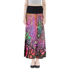 Neon Pour Full Length Maxi Skirt by galfawkes
