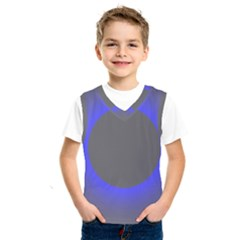 Pure Energy Black Blue Hole Space Galaxy Kids  Sportswear by Mariart