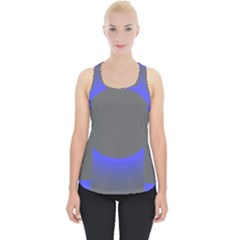 Pure Energy Black Blue Hole Space Galaxy Piece Up Tank Top