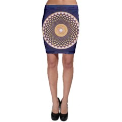 Sahasrara Blue Bodycon Skirt