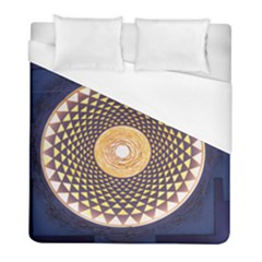 Sahasrara Blue Duvet Cover (full/ Double Size) by Mariart