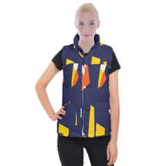 Slider Explore Further Women s Button Up Puffer Vest