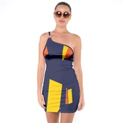 Slider Explore Further One Soulder Bodycon Dress