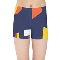 Slider Explore Further Kids Sports Shorts by Mariart