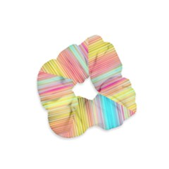 Sound Colors Rainbow Line Vertical Space Velvet Scrunchie by Mariart